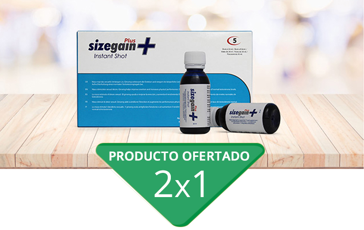 Sizegain Plus Instant Shot